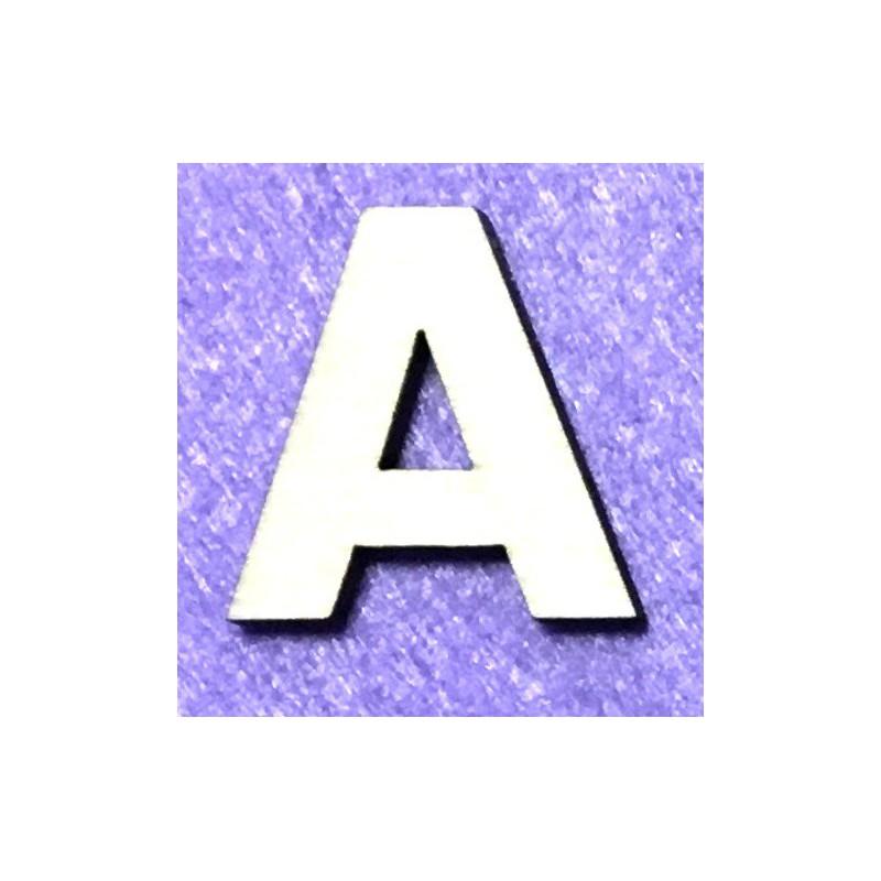 Raidė A (5 cm, 8 šriftas)
