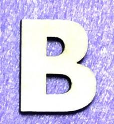 Raidė B (5 cm, 8 šriftas)