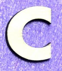Letter C (5 cm)