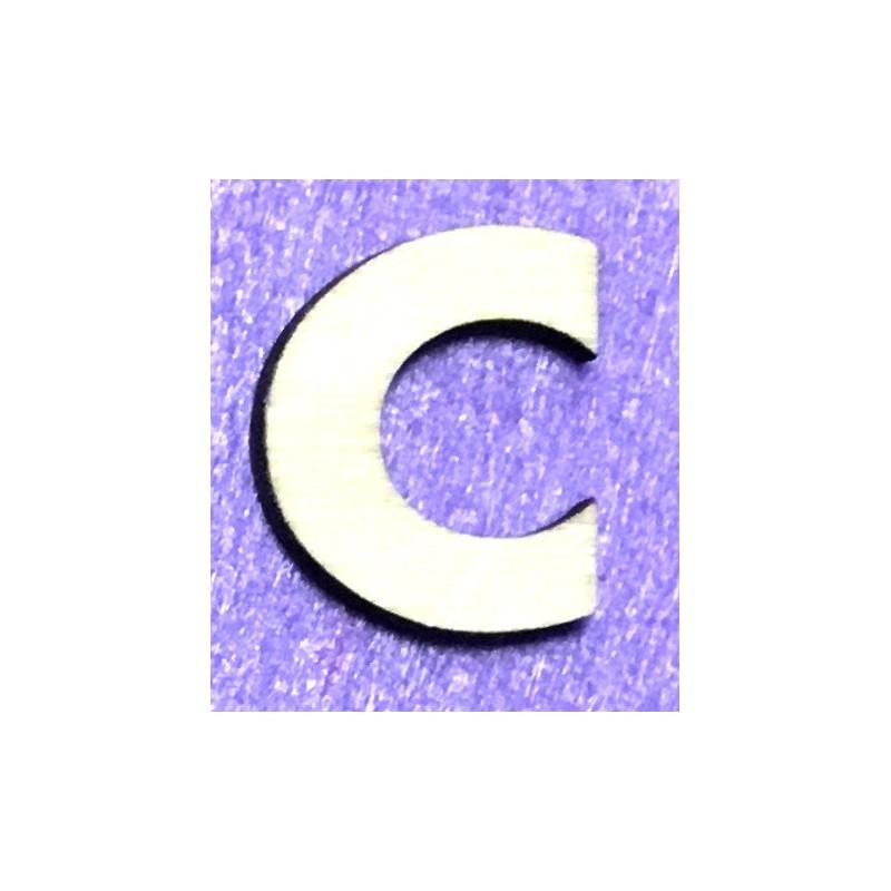 Raidė C (5 cm, 8 šriftas)
