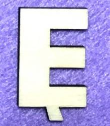 Letter Ę (5 cm)