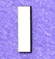 Raidė I (5 cm, 8 šriftas)