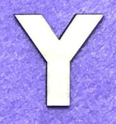 Letter Y (5 cm)