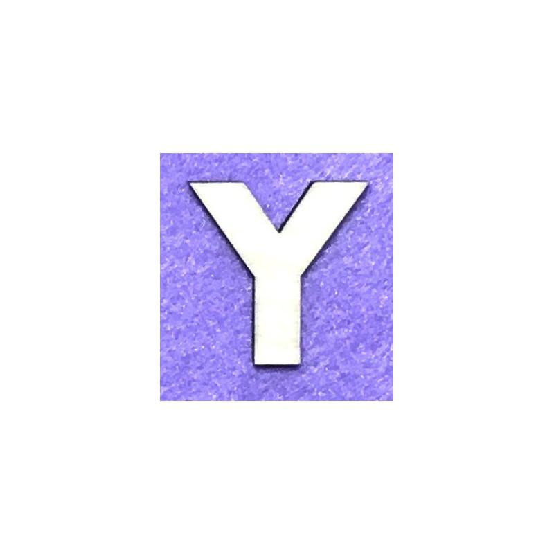 Raidė Y (5 cm, 8 šriftas)