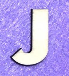 Raidė J (5 cm, 8 šriftas)