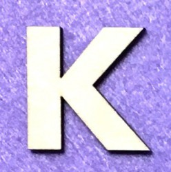 Letter K (5 cm)