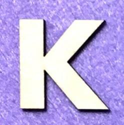 Raidė K (5 cm, 8 šriftas)