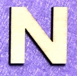 Letter N (5 cm)