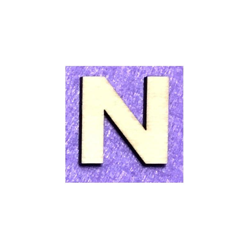 Raidė N (5 cm, 8 šriftas)