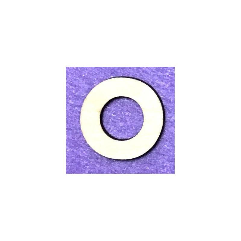 Raidė O (5 cm, 8 šriftas)