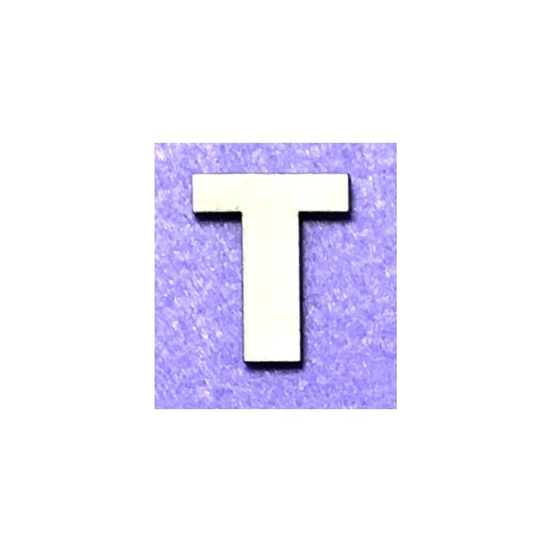 Raidė T (5 cm, 8 šriftas)