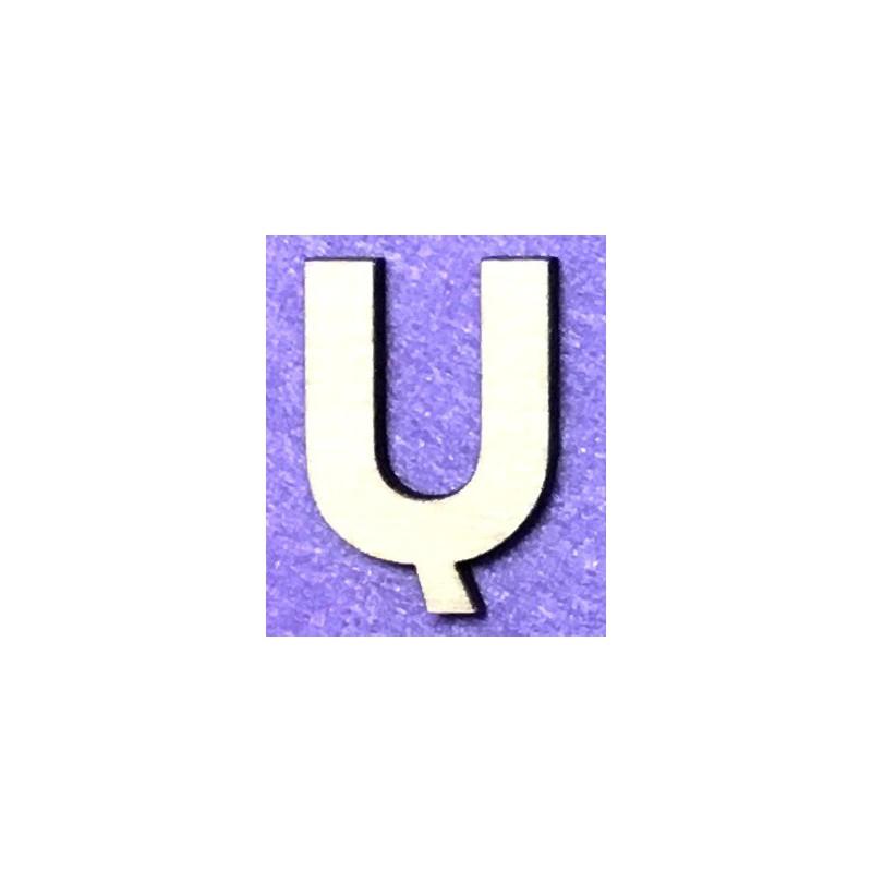 Letter Ų (5 cm)