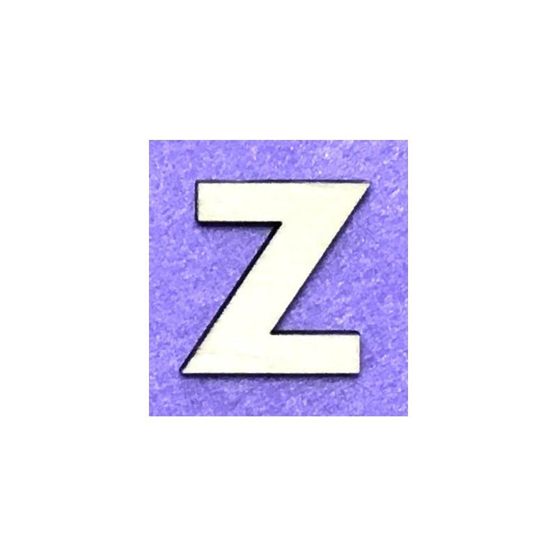 Raidė Z (5 cm, 8 šriftas)