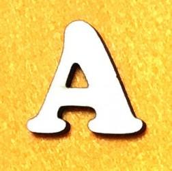 Raidė A (5 cm, 7 šriftas)