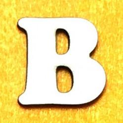 Raidė B (5 cm, 7 šriftas)