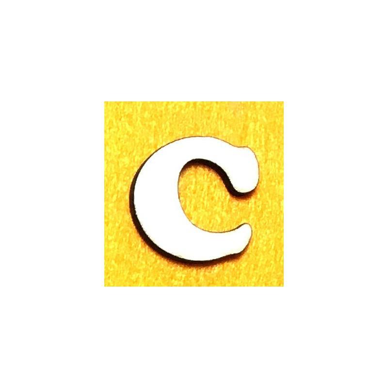 Raidė C (5 cm, 7 šriftas)