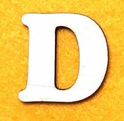 Letter D (5 cm)