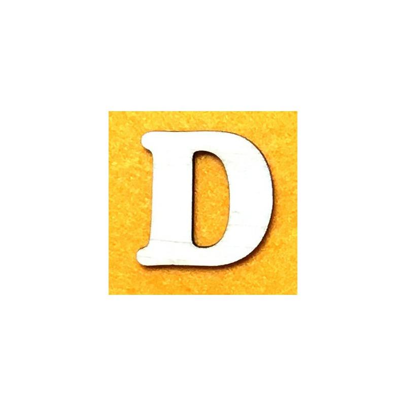 Raidė D (5 cm, 7 šriftas)