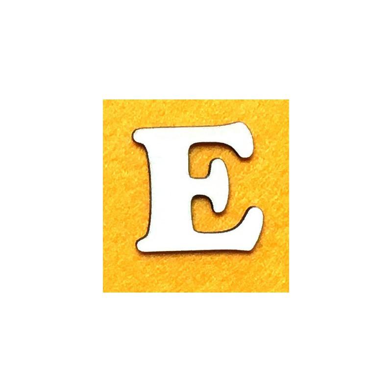 Raidė E (5 cm, 7 šriftas)