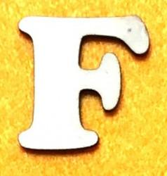 Raidė F (5 cm, 7 šriftas)