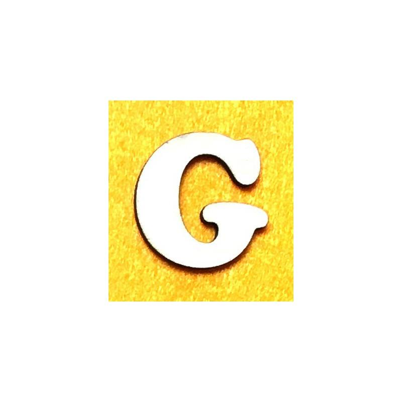Raidė G (5 cm, 7 šriftas)