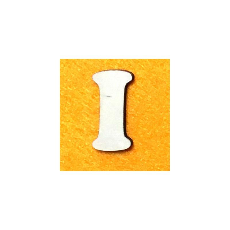 Raidė I (5 cm, 7 šriftas)