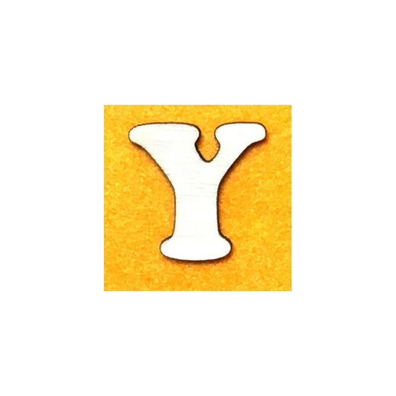 Raidė Y (5 cm, 7 šriftas)