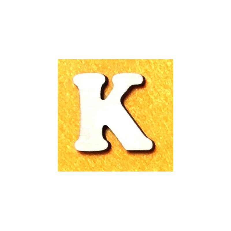 Raidė K (5 cm, 7 šriftas)