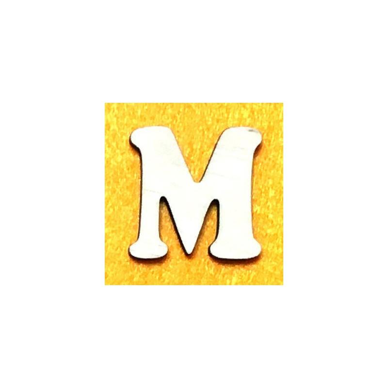 Raidė M (5 cm, 7 šriftas)