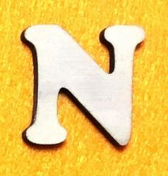 Raidė N (5 cm, 7 šriftas)