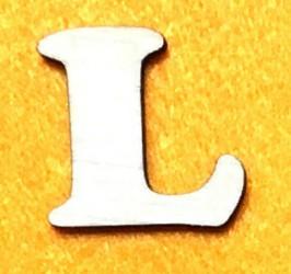 Raidė L (5 cm, 7 šriftas)