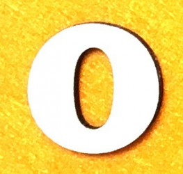 Letter O (5 cm)