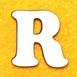 Letter R (5 cm)