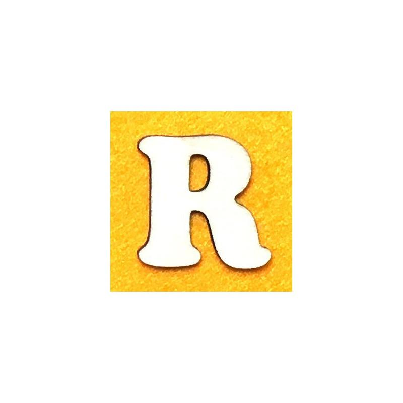 Raidė R (5 cm, 7 šriftas)