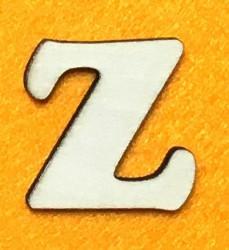 Raidė Z (5 cm, 7 šriftas)