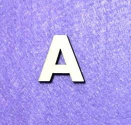Letter A (3 cm)