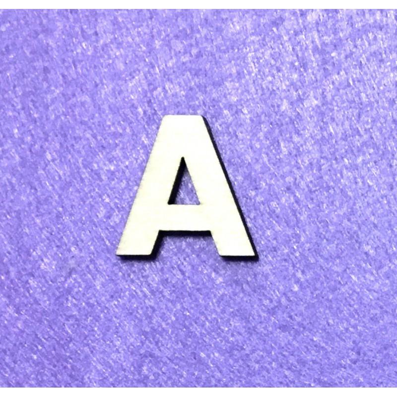 Raidė A (3 cm, 8 šriftas)