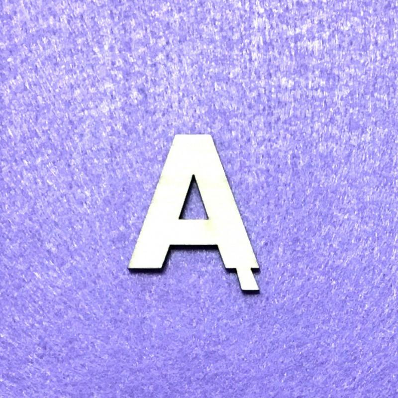 Raidė Ą (3 cm, 8 šriftas)