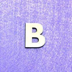 Raidė B (3 cm, 8 šriftas)