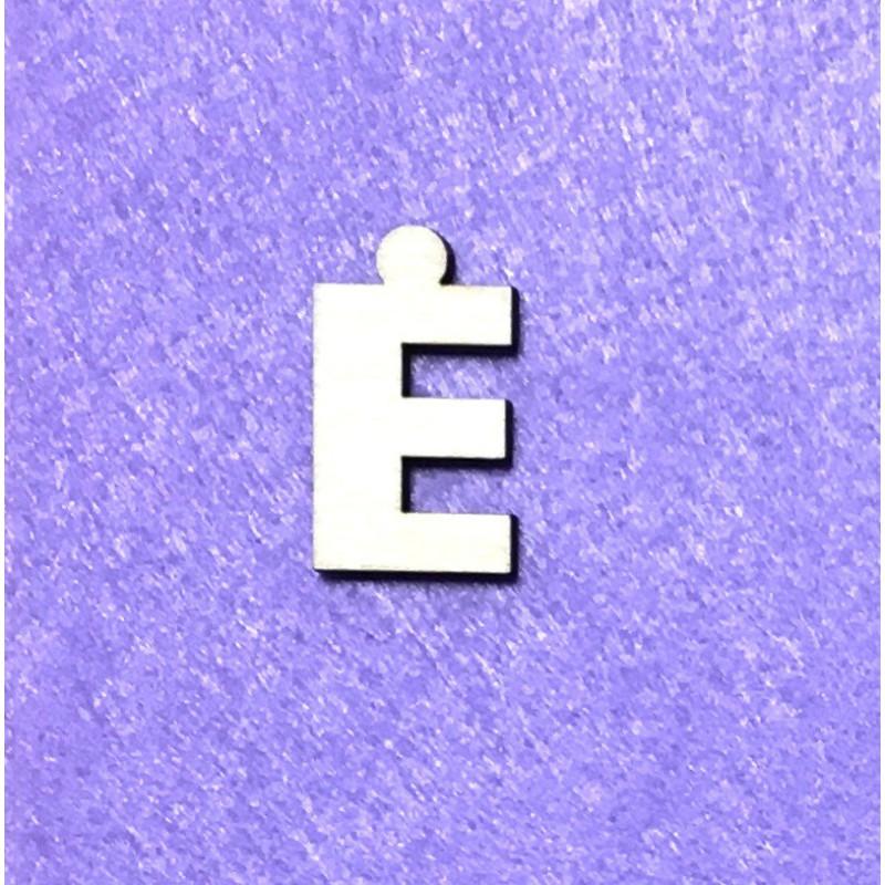 Raidė Ė (3 cm, 8 šriftas)