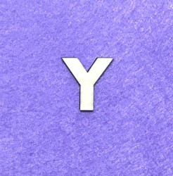 Letter Y (3 cm)