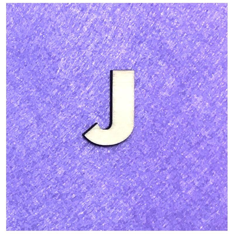 Raidė J (3 cm, 8 šriftas)