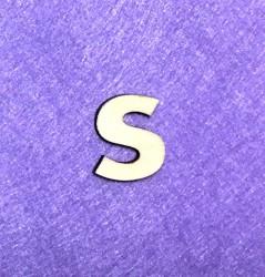 Letter S (3 cm)