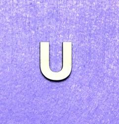 Letter U (3 cm)