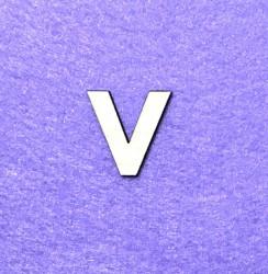 Letter V (3 cm)