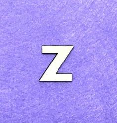 Raidė Z (3 cm, 8 šriftas)