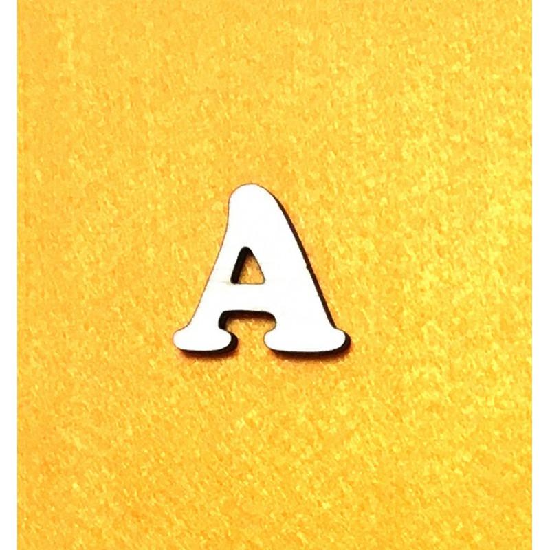 Raidė A (3 cm, 7 šriftas)