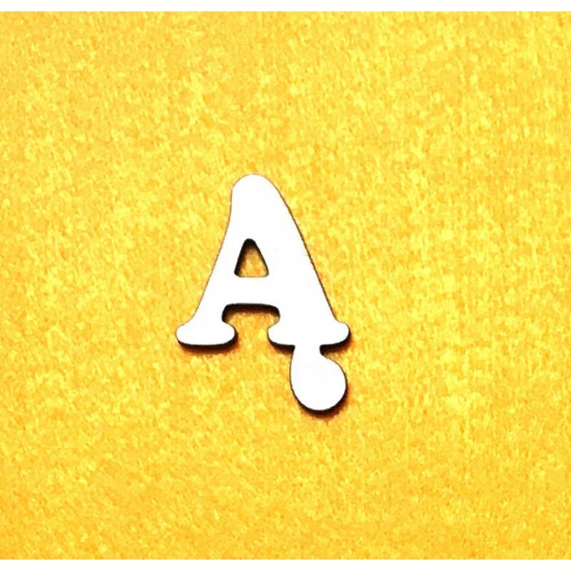Raidė Ą (3 cm, 7 šriftas)