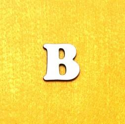 Raidė B (3 cm, 7 šriftas)