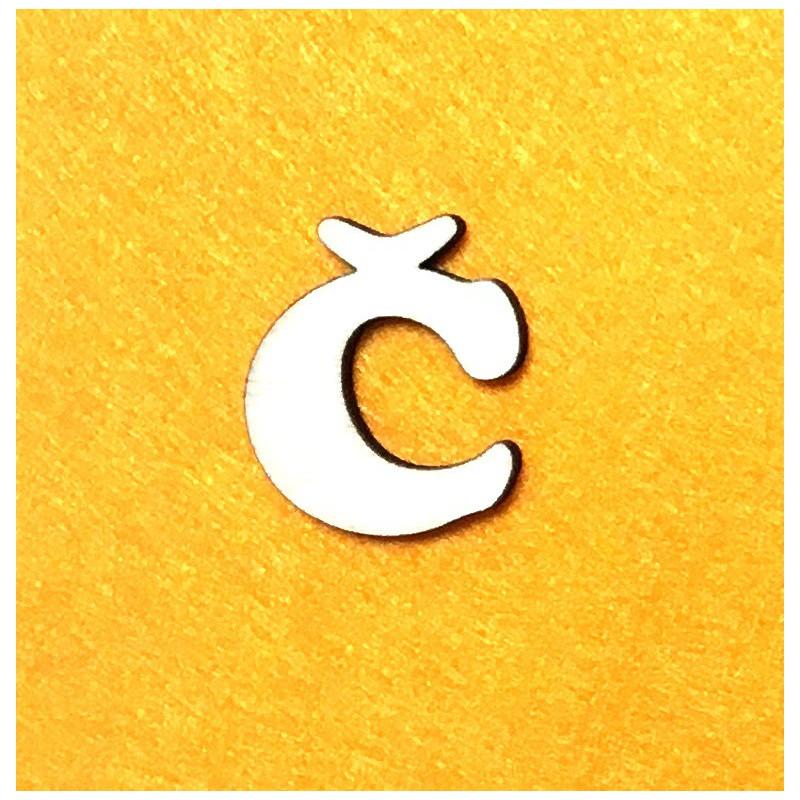 Letter Č (3 cm)